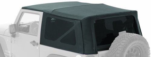 Bestop® 54720-35 Black Diamond Supertop(Tm) Nx Complete Replacement Soft Top With Tinted Windows- No Doors Included- 1997-2006 Jeep Wrangler (Except Unlimited)