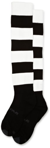 mitre-mercury-hoop-football-sock-black-white-size-7-12