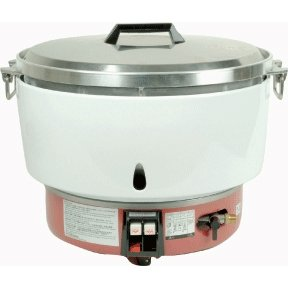 Commercial 50 Cup Natural Gas Rice Cooker & Warmer