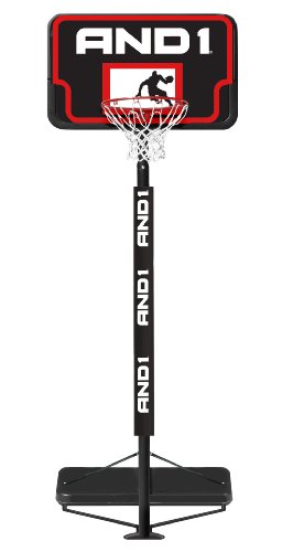 AND1 Lay Up Basketball System - Black/Red
