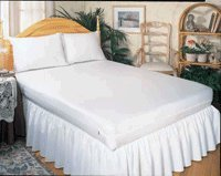 Cheap 3 Gauge Fitted Vinyl Mattress Covers - King Size