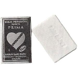 『プリマサリラペソープ』女性にやさしいジャムウ石鹸♪デリケートゾーンのニオイ消臭にも。