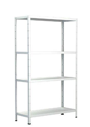 Schulte-Regal-Steckregal-Metall-Traglast-200-kg-4-Bden-1-Stck-137-x-75-cm-wei-4056397001669
