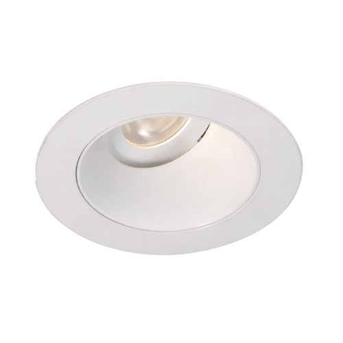Wac Lighting Hr-3Led-T318S-C-Bn 4000K Tesla Led Adjustable 0-Degrees To 30-Degrees Round Trim, 15-Degree Beam Angle, 3-Inch, Cool