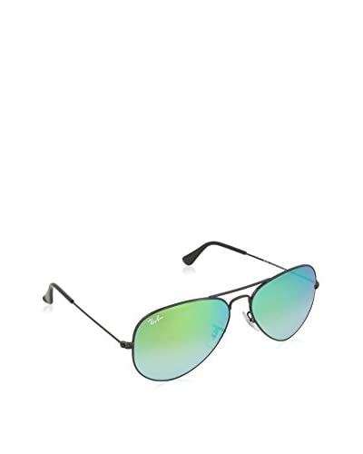 Ray-Ban Gafas de Sol 3025 _002/4J AVIATOR LARGE METAL (58 mm) Negro Brillo / Verde