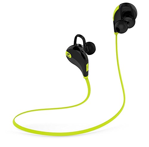 The brand Soundpeats is known for its innovative music devices that enhance your music experience. The Qy7 Mini Lightweight Wireless Sports headset is another great addition to their list. Below are the highlights of this product:-  . 5 hours of playtime, offering a full week's worth of workouts or an entire day's listening.  . It has the feature 'PureSound In-ear' feature which reduces listeners fatigue and creates clear sound every time.  . 'SignalPlus' feature which enables you to get better connectivity with your device. It doesn't matter where you keep your device, it will stay connected.  . 'High Fidelity' feature which lets you enjoy utmost clarity in all your songs  . It's battery allows 5 hours of play time and 145 hours of standby time.  . It is sweat proof and hence you can focus solely on your workout without having to be worried about it getting damaged due to sweat.  . Durable yet superlight, making it the perfect companion during your workout.