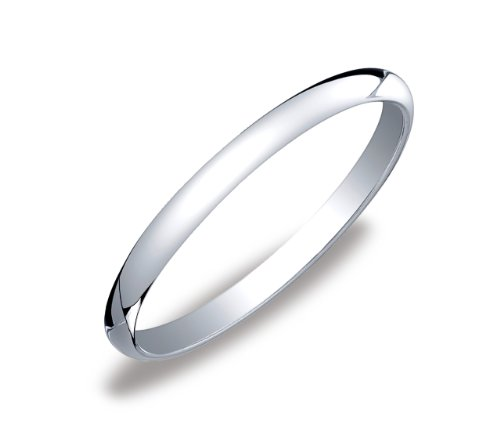 Women's Platinum 2mm Traditional Wedding Band Ring, Size 6.5