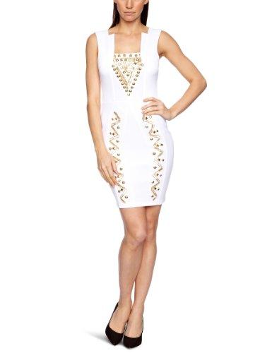 Lipsy JD01362 Sleeveless Women's Dress White