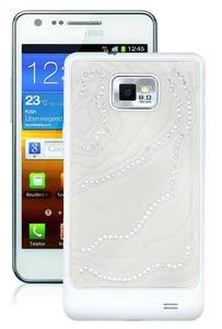 Samsung i9100 Galaxy S II Swarowski Crystal Edition ohne Vertrag ceramic-white