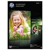HP Everyday Photo Paper - Glossy photo paper - A4 (210 x 297 mm) - 200 g/m2 - 100 sheet(s) - for Deskjet 2050 J510, 3050 J610; Envy 100 D410, 11X D411; Photosmart 65XX B211, 7510 C311