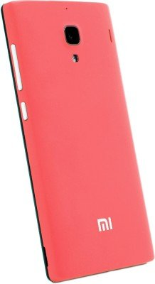Genuine Mi Back Replacement Cover Case for Mi Redmi 1S  Coral available at Amazon for Rs.5512