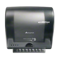 Zoom Supply Georgia Pacific 59498 enMotion Dispenser, Elegant Commercial-Grade GP Impulse 8 Automated EnMotion Towel Dispenser, No Disgusting Handles -- ADA Compliant Version