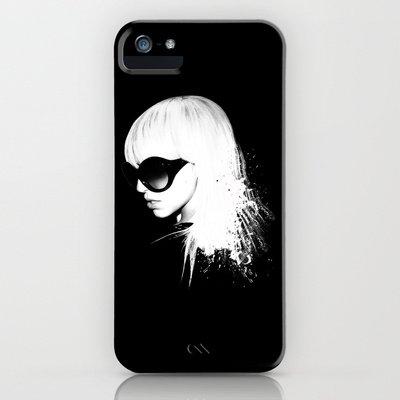 Society6/ソサエティシックス iphone5 ケース レディー・ガガ Lady gaga