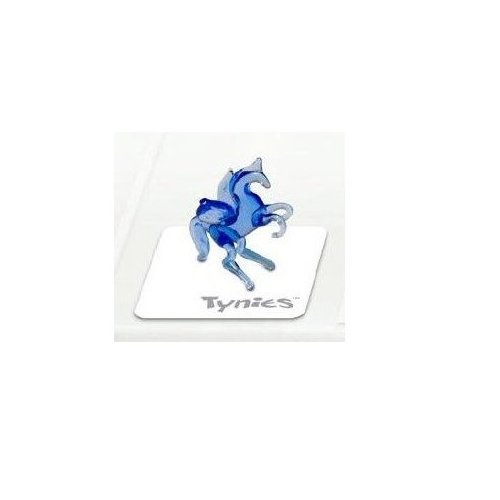 Tynies Animals Sky - Unicorn With Wings * Colors May Vary * Glass Figure