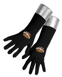 Power Rangers Gloves (Black) Child Accessory