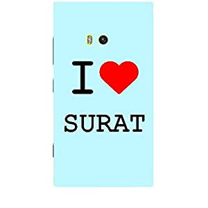 Skin4gadgets I love Surat Colour - Light Blue Phone Skin for LUMIA 920