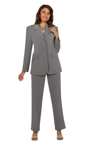 Plus Size Work Clothes,Women 2Pc Pant Set, Career,Business Attire,Church Suit 4-30