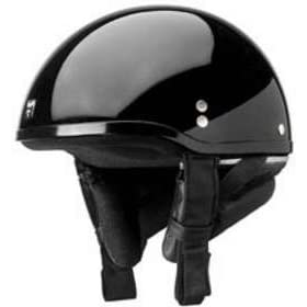 NOLAN CRUISE OUTLAW BLACK MOTORCYCLE Open-Face-Helmet