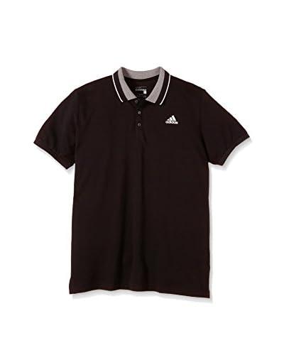 adidas Poloshirt Polo marine/weiß