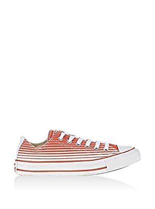 Converse Zapatillas Chuck Taylor All Star Ox (Blanco / Naranja)