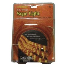 Celebrations Halloween Indoor/Outdoor Rope Lights 18', Orange