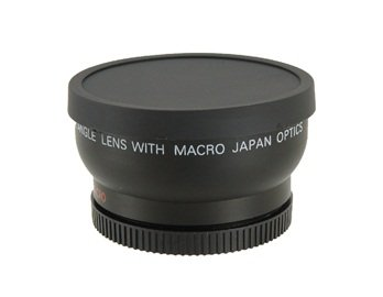 1452W-R 52Mm 0.45X Digital High Definition Super Wide Angle Lens With Macro (Black)