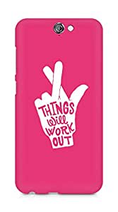AMEZ things will work out Back Cover For HTC One A9