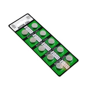 Battery Pack of 10 Replacement Batteries for Hexbug Nano, Ant, Original, Crab and Inchworm