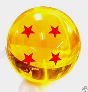 DragonBall Z - Crystal Ball 4 Star with Gift Box Four STAR