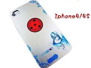 Anime Naruto Sharingan Itachi Uchiha Phone Case Iphone 4 4s