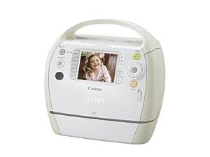 Canon Selphy ES3 Compact Photo Printer (White) (2675B001)
