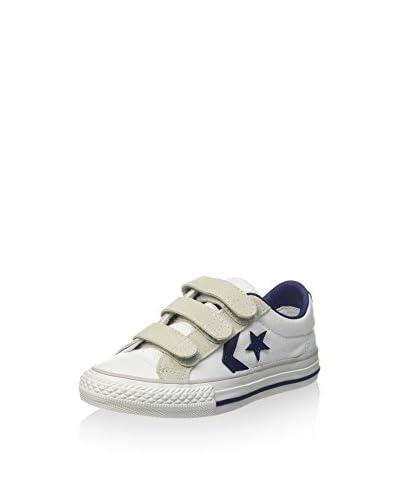 Converse Sneaker weiß/grau/blau