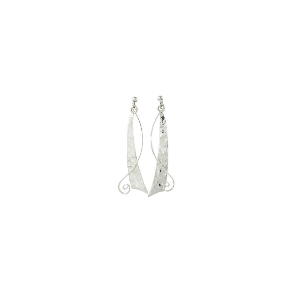 Taxco Mexico Sterling Silver Dangle Earrings Jewelry