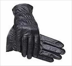 SSG Ladies Leather Pro Show Gloves 7 Black
