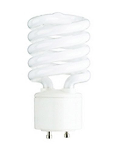 Halco 46528 - Cfl26/27/Gu24 - 26 Watt Compact Fluorescent Spiral Light Bulb, Gu24 Base, 2700K