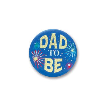 "Dad To Be Satin Button 2"" Party Accessory"