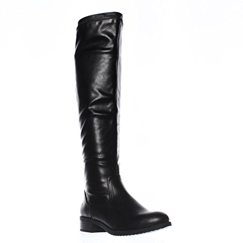 White Mountain Crooner Women US 6 Black Knee High Boot