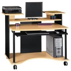 BSHMM80302 Computer Desk Bush Office Furniture MM80302 O