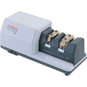 Chef's Choice Commercial 2000 Diamond Hone Knife Knives Sharpener - double bevel edge giving blades up to 3x the life!