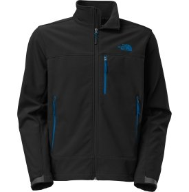 The North Face Apex Bionic Soft Shell Jacket - Men's-Tnf Black/Snorkel Blue-S from The North Face