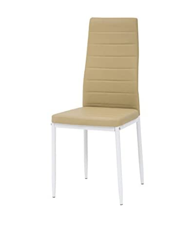Tuoni stoel set van 4 Queen wit / beige