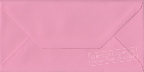 Premier Envelopes Pastel Pink Dl - 110 Mm X 220 Mm 100Gsm Gummed Envelope (Pack Of 25)