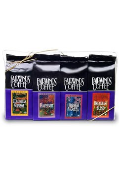 Fairwinds Coffee, Variety Gourmet Coffee Sampler
