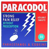 Paracodol Soluble Pain Relief Tablets 32
