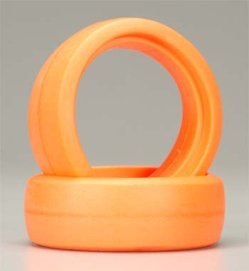 Foam Molded Donut, Orange (6) - 1