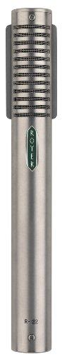 Royer Labs R-122 Phantom Powered Active Large-Element Ribbon Microphone, Nickel