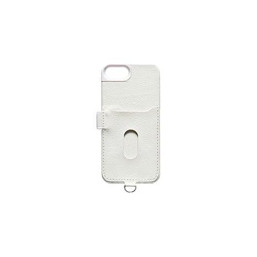 Kenko iPhone5用 フェイクレザーケース ホワイト KT-IP5FL/WH