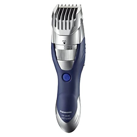 Panasonic Milano Series Men's Hair, beard and body trimmer shaving system, 19 settings from 1 to 10mm (in 0.5 adjustment intervals) for close trimming, unique water shutters for quick and easy maintenance of the shaver, rubberized grip, includes AC r...
