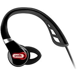Polk Audio UltraFit 1000 In-Ear Sports Headphones with iPod/iPhone Control and Mic - Black/Red