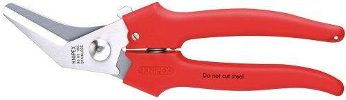 Knipex 95 05 185 Cesoia Combinata, Rivestiti in Resina Termoplastica, 185 mm